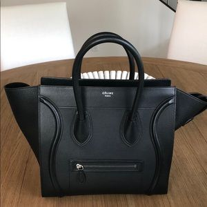 Celine Mini Luggage Handbag